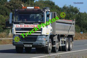 TR-01026 DAF CF Reg:- SN09BBV Op:- GH Bromley