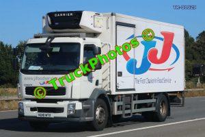 TR-01029 Volvo FL Reg:- KU10WTX Op:- JJ Food Service