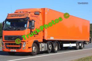 TR-01044 Volvo FH Reg:- KU60AOY Op:- Mam Transport