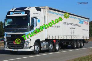 TR-01061 Volvo FH Reg:- GN16FFG Op:- Laser Transport