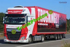 TR-01087 DAF XF Reg:- YJ14MXB Op:- Brian Yeardley