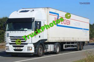 TR-01092 Iveco Stralis Reg:- 1JAH854 Op:- Van Eycken