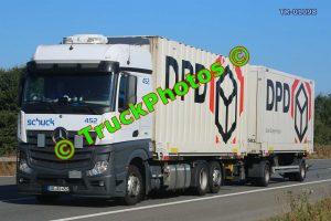 TR-01098 Mercedes Actros Reg:- ABAS452 Op:- DPD
