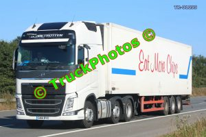 TR-01099 Volvo FH Reg:- GN14RYX Op:- Eat More Chips