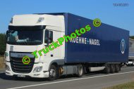 TR-01124 DAF XF Reg:- HND022 Op:- Kuehne + Nagel